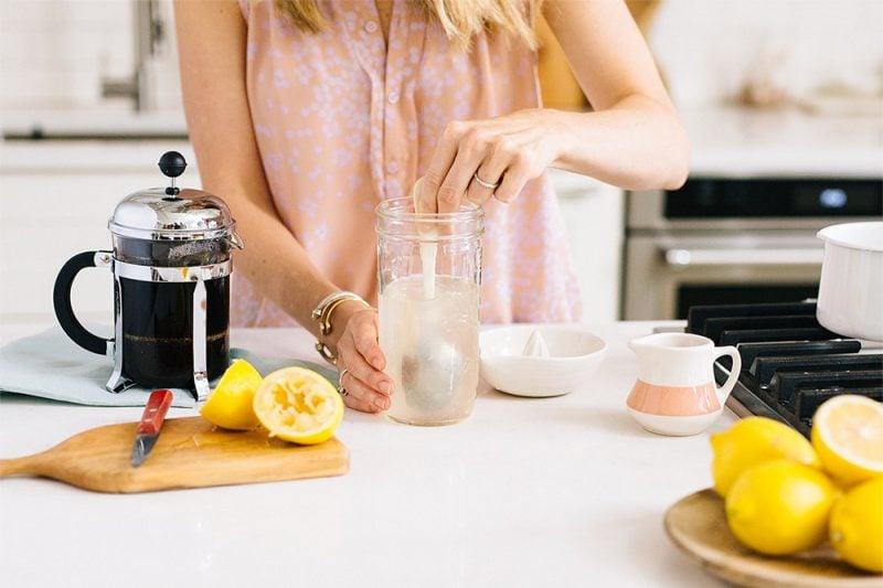 Kaffee Limonade selber machen - Rezept