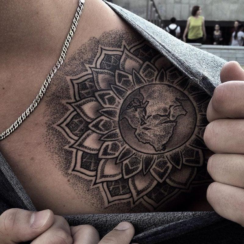 Mandala Tattoo Männer
