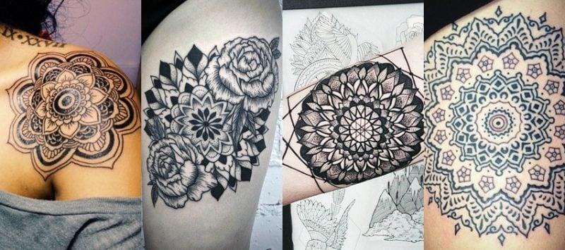 Das Spirituelle Mandala Tattoo 34 Ideen Mit Magischer Bedeutung