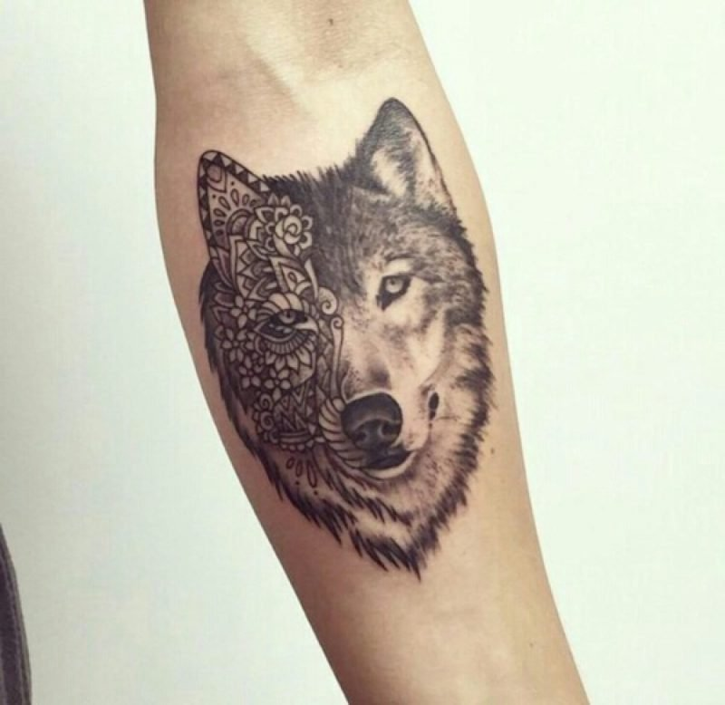 Tattoo Wolf 60 Inspirierende Ideen Fur Manner Und Frauen Tattoos