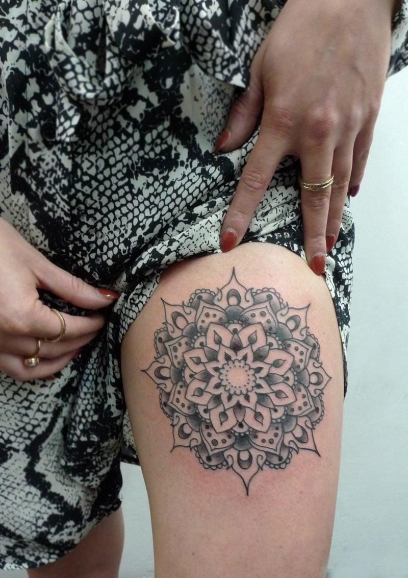 Mandala Tattoos Sexy