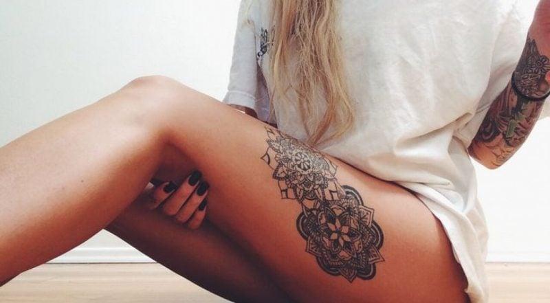 Mandala Tattoos Sexy Tattoos