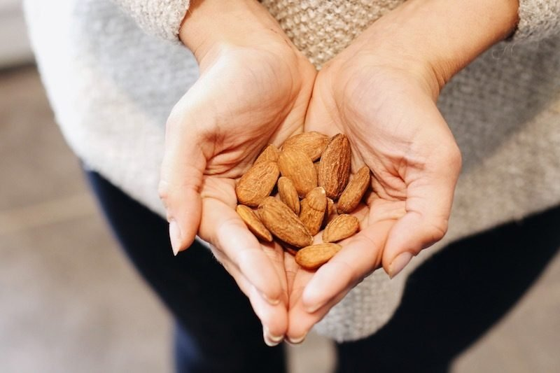 mandeln gesund mandeln kalorien mandeln nährwerte mandeln inhaltsstoffe