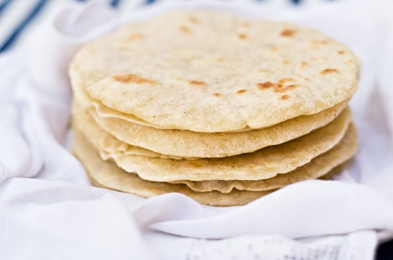 Tortilla Rezept mexikanische Tortillas