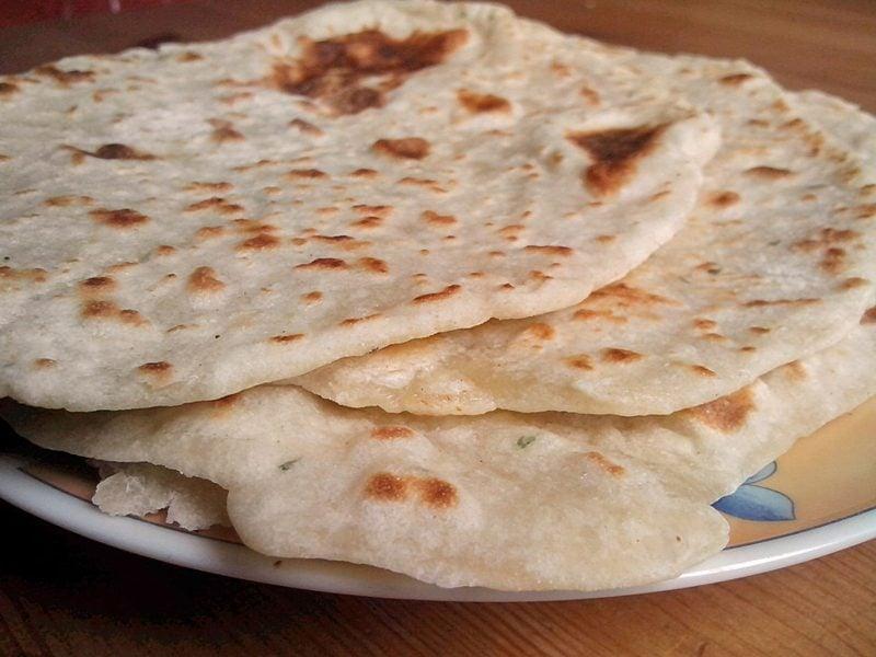 Tortilla Rezept mexikanische Tortillas Weizenmehl