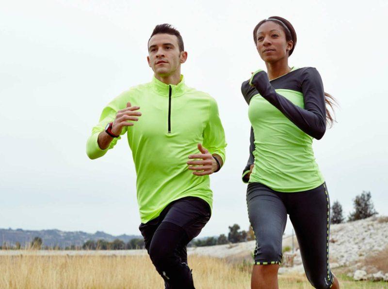 Joggen anfangen Partner Spass Haben