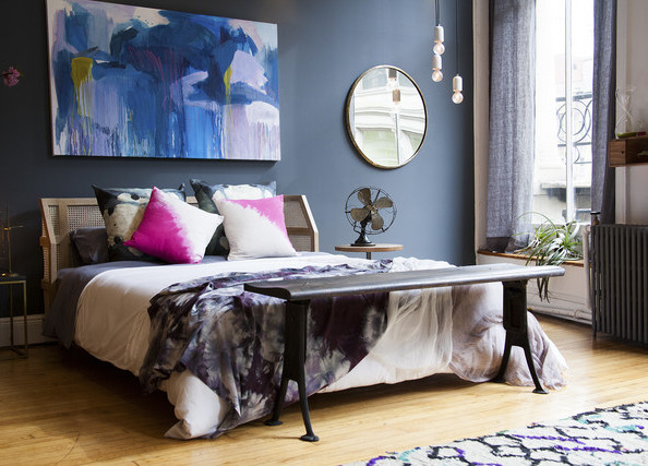 Schlafzimmer gestalten prachtvolle wandgestaltung schaffen schlafzimmer wandverkleidung - Schlafzimmergestaltung farben ...