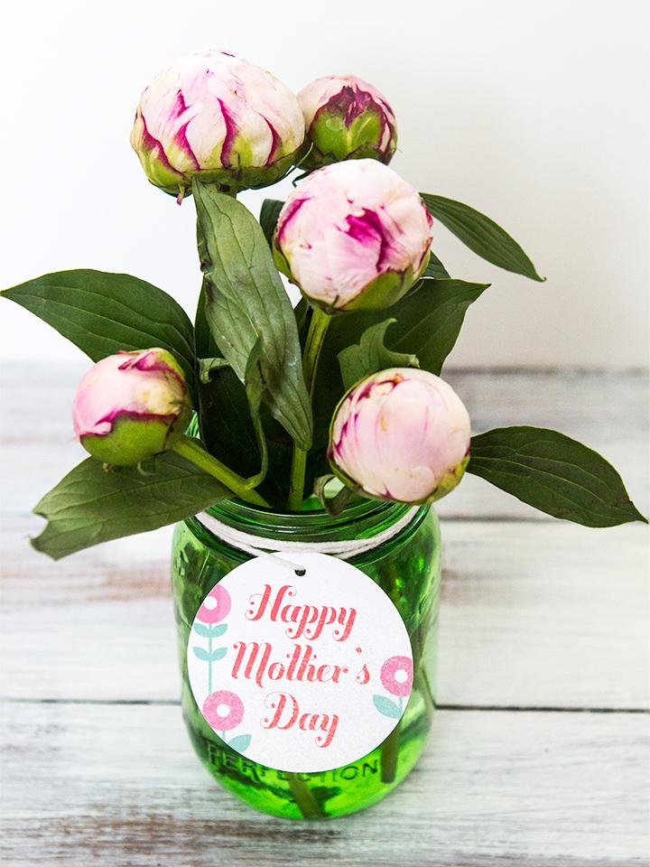 Muttertag Basteln: einzigartige Blumen Geschenk basteln