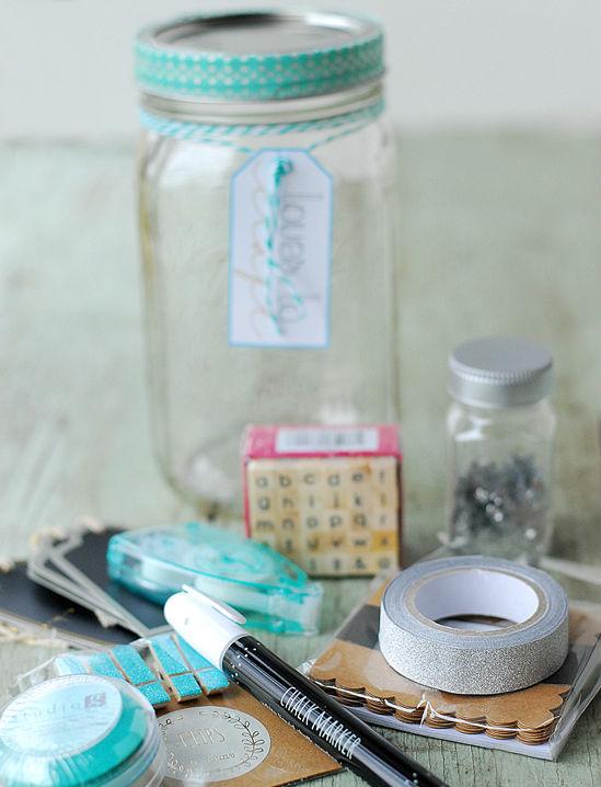 Muttertag basteln - Geschenk für kreative Mutter, die gerne basteln