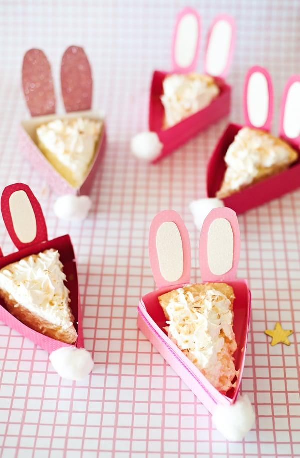 Dessertteller aus Papier basteln