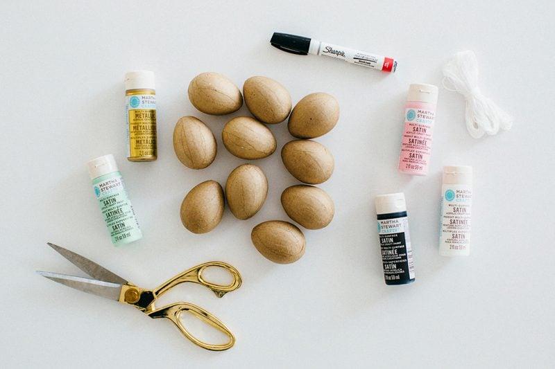 Osterstrauch selber machen: DIY Anleitung