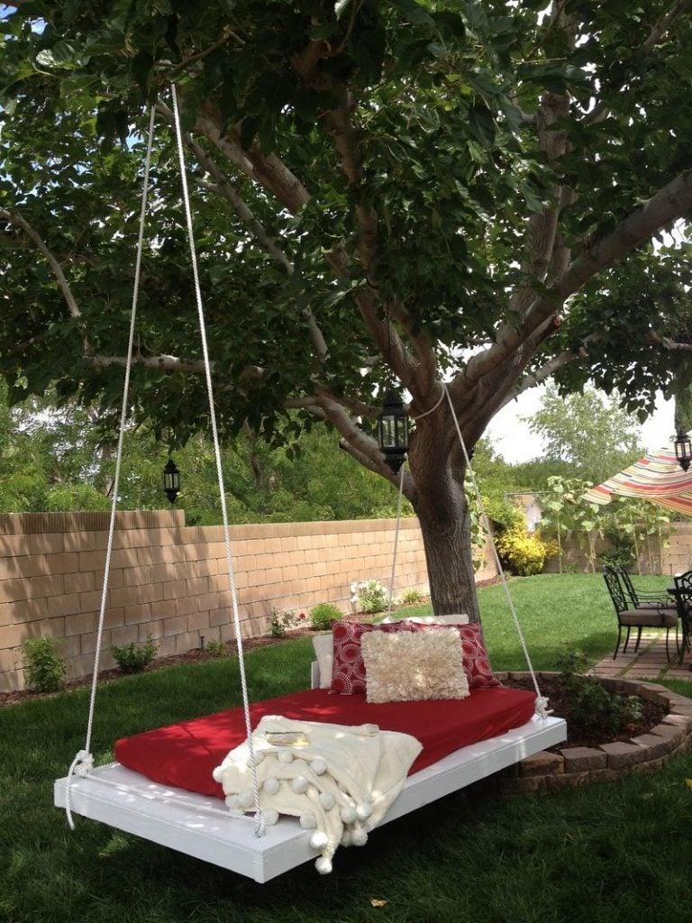 h ngebett garten swalif. Black Bedroom Furniture Sets. Home Design Ideas