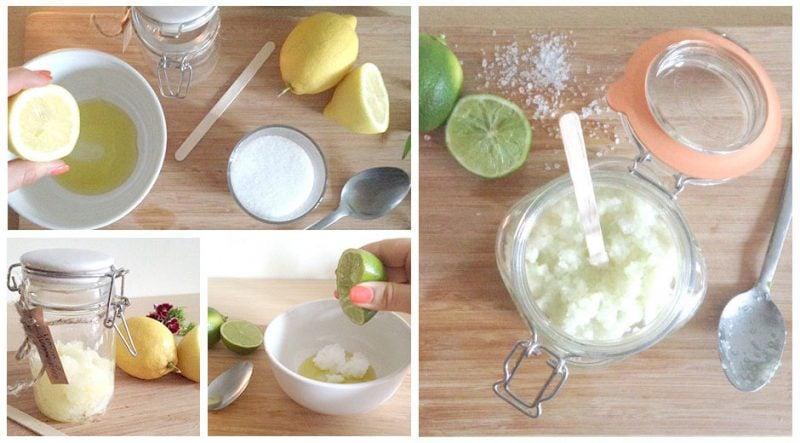 Peeling selber machen Rezept Zubereitung
