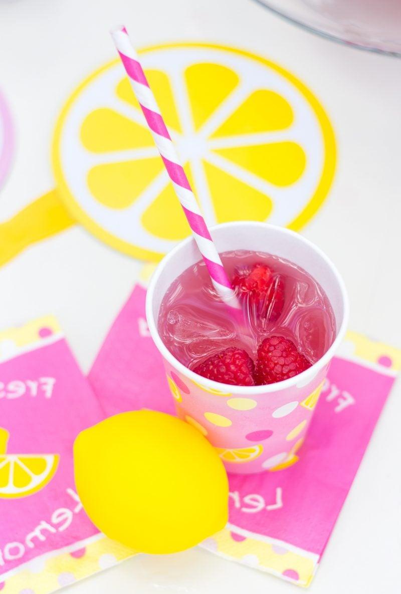 Pink Limonade selber machen
