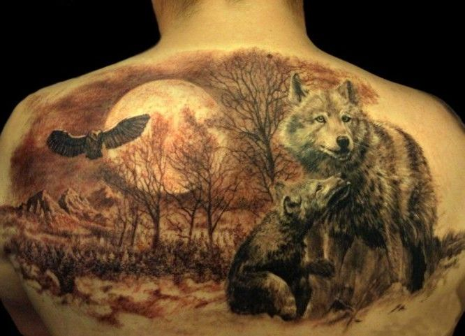 Tattoo Wolf 60 Inspirierende Ideen Für Männer Und Frauen Tattoos
