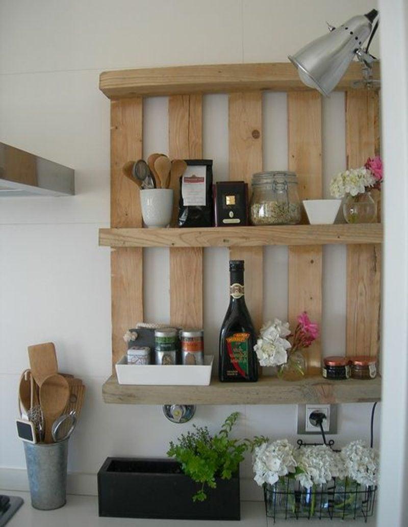 Regal aus Paletten 51 Budget-freundliche DIY Ideen - DIY, Möbel ...