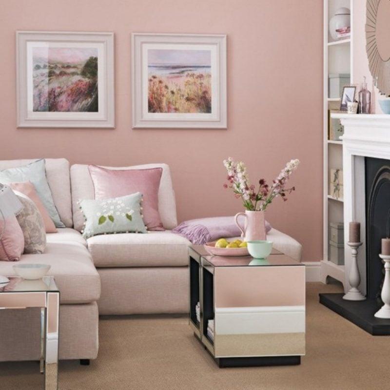 Pink farbe als trendfarbe in der einrichtung 50 stylische vorschl ge innendesign - Stylische weihnachtsdeko ...