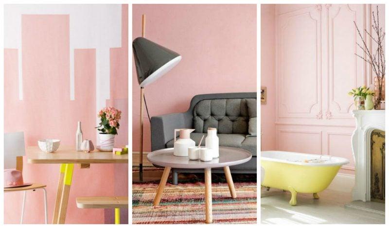 pink farbe als trendfarbe in der einrichtung 50 stylische vorschl ge innendesign. Black Bedroom Furniture Sets. Home Design Ideas