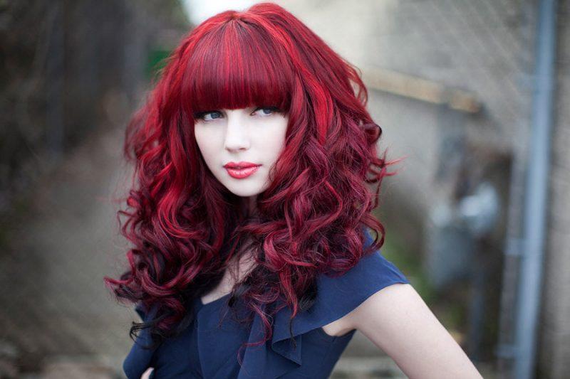 50+ Dunkelbraune Haare Mit Rotschimmer