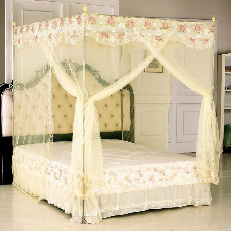 himmelbett selber machen affordable schne ideen. Black Bedroom Furniture Sets. Home Design Ideas