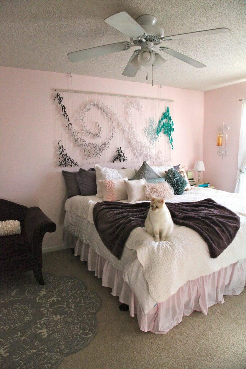 Schlafzimmer gestalten prachtvolle wandgestaltung schaffen schlafzimmer wandverkleidung - Rosa schlafzimmer gestalten ...