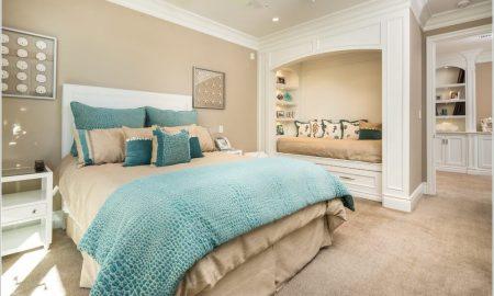 schlafzimmer getsalten wandgestaltung ideen farben
