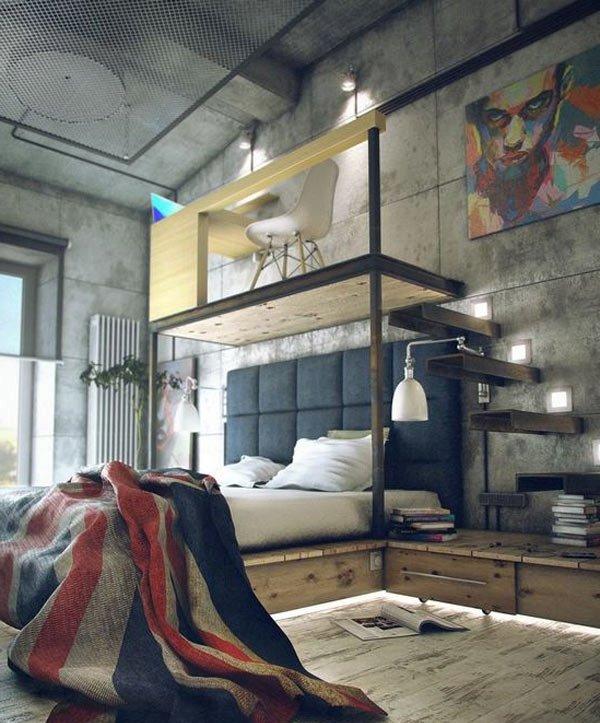 Wie Kann Man Schlafzimmer Einrichten: Prachtvolle Wandgestaltung