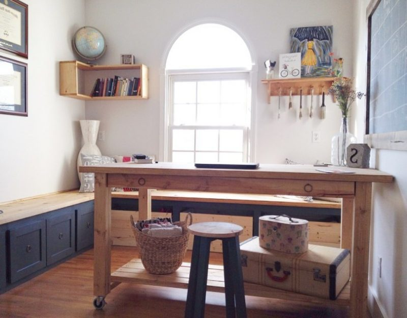 schreibtisch selber bauen so geht es diy m bel zenideen. Black Bedroom Furniture Sets. Home Design Ideas