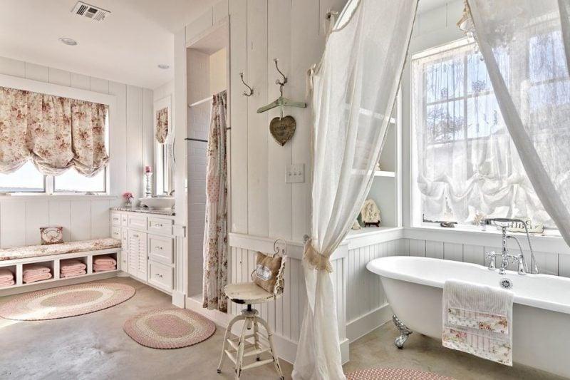 Shabby Chic Badezimmer - Ihr Weg zum Traumbad - Badezimmer, Trends ...