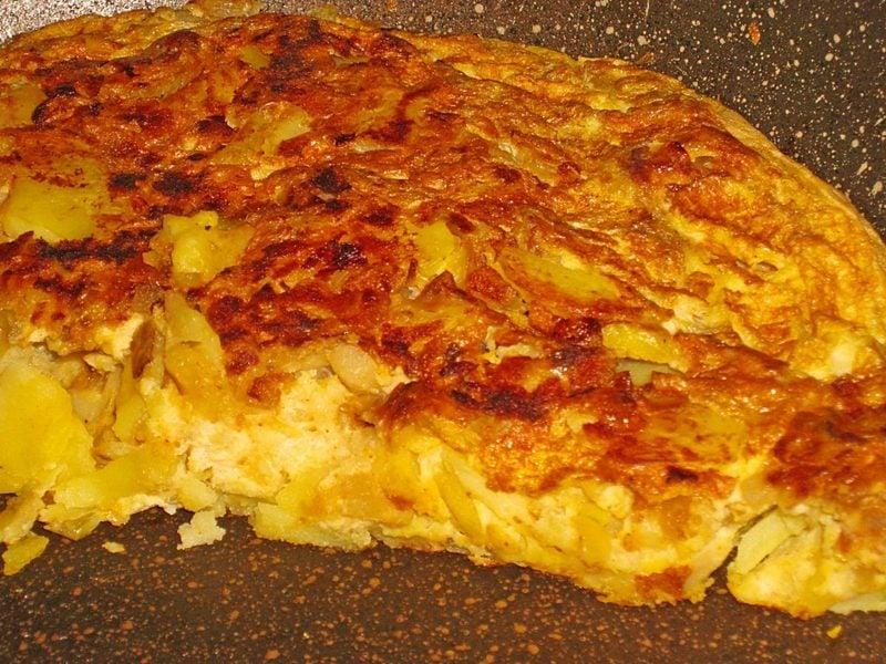 spanisches Tortilla Rezept mit Kartoffeln