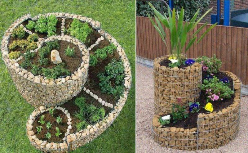 Kräuterbeet Ideen den garten individuell gestalten kräutergarten anlegen anleitung