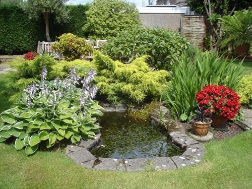 Schone Garten Mit Teich – msglocal.info