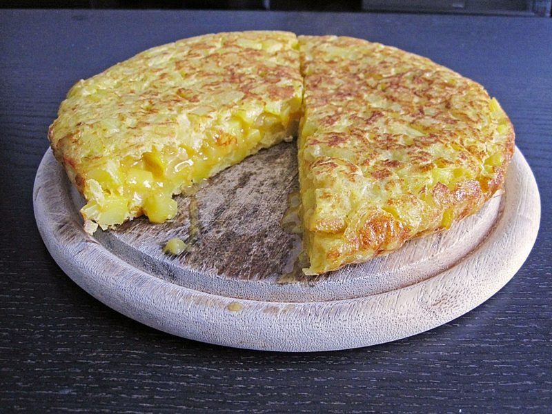 Tortilla Rezept lecker spanisch