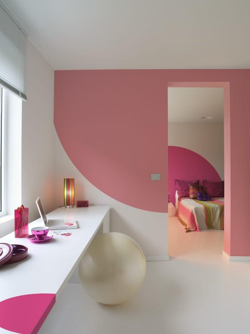 w nde richtig streichen tipps und 20 kreative ideen innendesign wandverkleidung zenideen. Black Bedroom Furniture Sets. Home Design Ideas