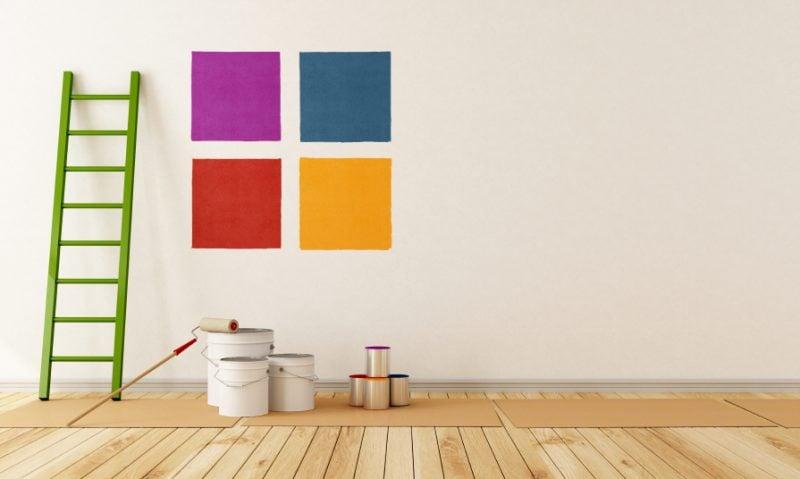 Wnde Streichen Ideen Richtig Streichen Wohnung Streichen Renovieren Wand  Streichen With Zimmer Streichen Tipps