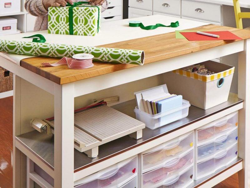 Brauchen Sie noch Inspiration, wie Sie Ihr eigenen Werkraum einrichten und organisieren? Dann scrollen Sie nach unten um sich noch kreative Ideen zu holen!