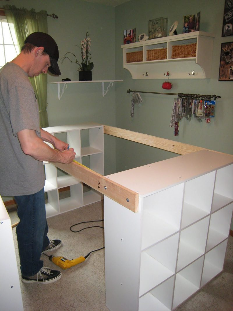 2 bauanleitungen f r heimwerker werktisch und werkbank selber bauen diy zenideen. Black Bedroom Furniture Sets. Home Design Ideas