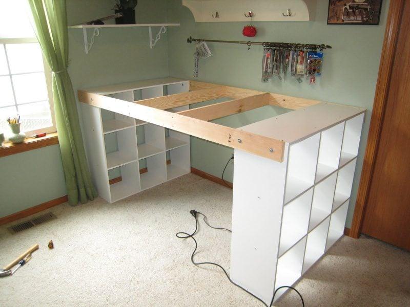 Werkbank selber bauen ikea  2 Bauanleitungen für Heimwerker: Werktisch und Werkbank selber bauen ...