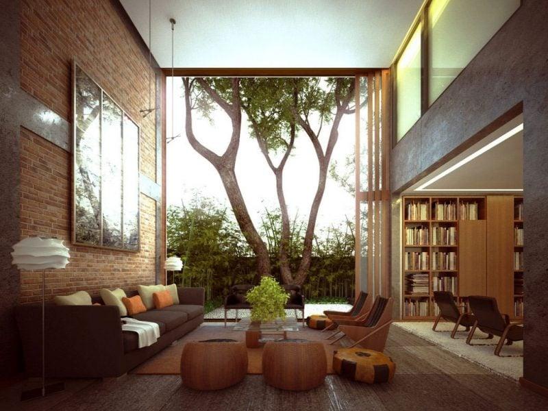 wohnzimmergestaltung mit farben und bildern 70 frische vorschl ge innendesign wohnzimmer. Black Bedroom Furniture Sets. Home Design Ideas