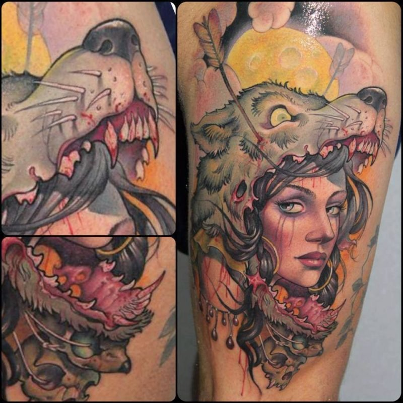 tattoo wolf tattoo motive tattoos frauen tattoos männer tattoo ideen