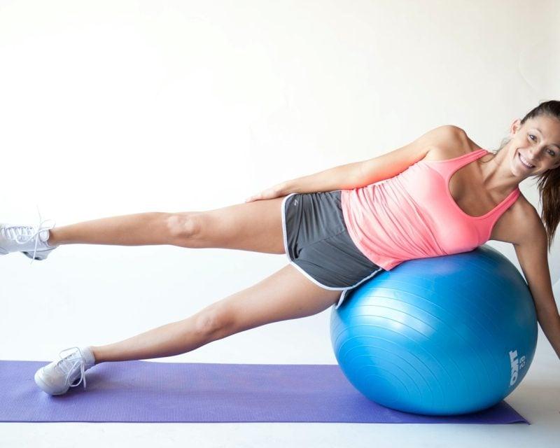 Fitnessplan für Anfänger Pilates tranieren