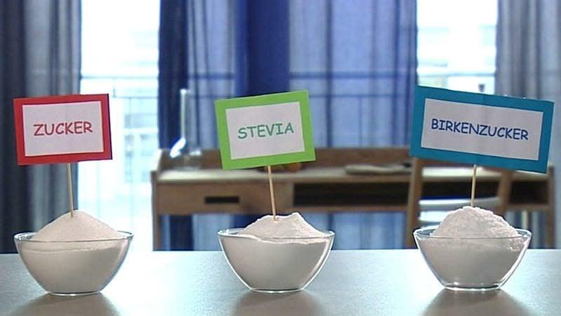 Backen mit Stevia oder Birkenzucker gesunder Zuckerersatz