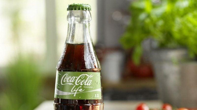 Cola ohne Aspartam mit Stevia