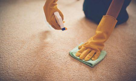 Fettflecken entfernen Teppich