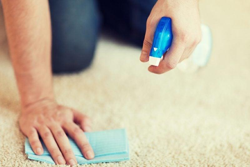 Fettfleck entfernen Teppich heilfreiche Tipps