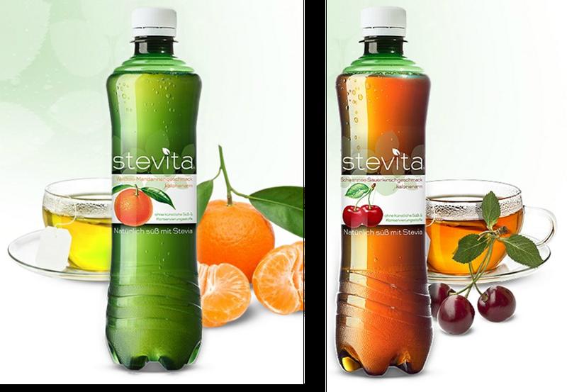 Stevia gesund Produkte mit Stevia Getränke