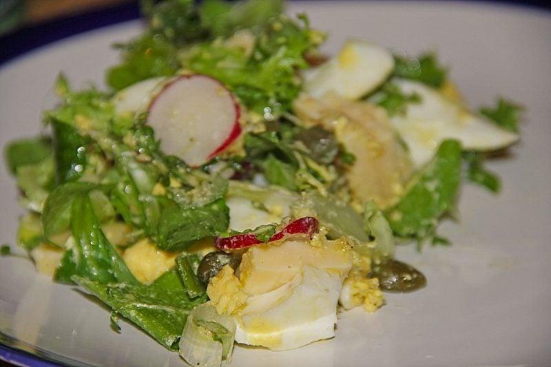 Radieschen Nährwerte Kopfsalat gekochte Eier