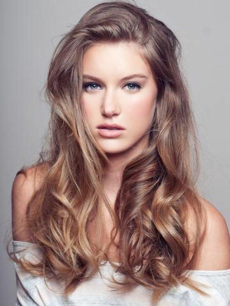 Hellbraun haarfarbe Palette