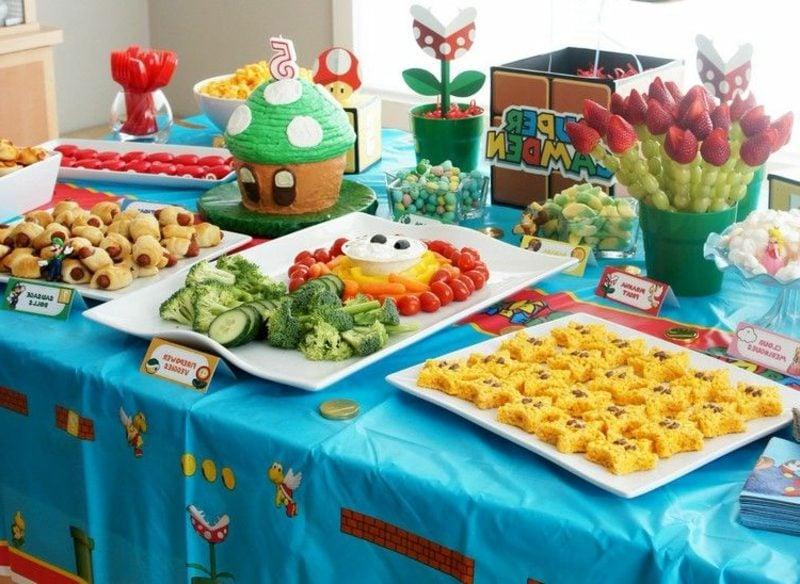 Kindergeburtstag Essen Buffet