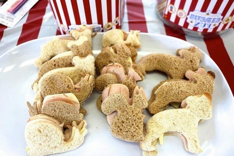 Kindergeburtstag Essen Fingerfood Sandwiches